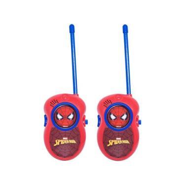 Walkie Talkie Infantil Spider-Man  - Candide