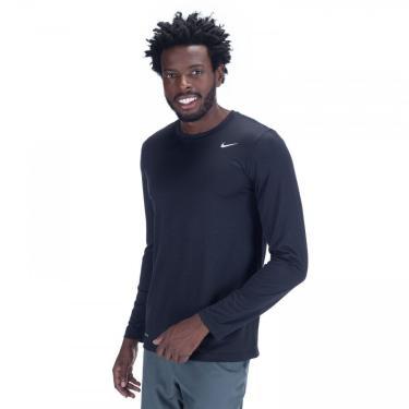 Camiseta Manga Longa Nike Dry Tee Legend - Masculina Nike Masculino