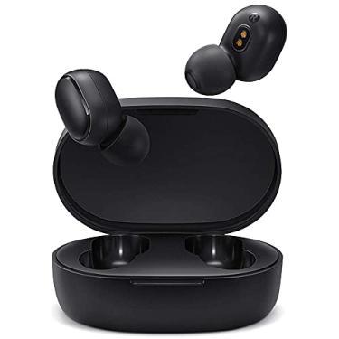 Imagem de Redmi Airdots 2 Fones de ouvido Bluetooth - Fones de ouvido sem fio compatíveis com iPhone e Android - Fones de ouvido sem fio com tecnologia de cancelamento de ruído e capa de carregamento inteligente - preta