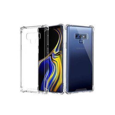 Kit 2 Em 1 Capa Protetora Transparente Para Galaxy Note 9 + Película De Gel