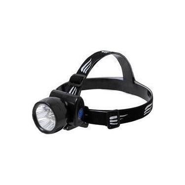 Lanterna De Cabeça Led Recarregável Nautika Fenix Bivolt 13 Lumens Preta