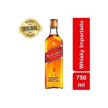 Whisky Escocês Red Label Garrafa 750ml - Johnnie Walker