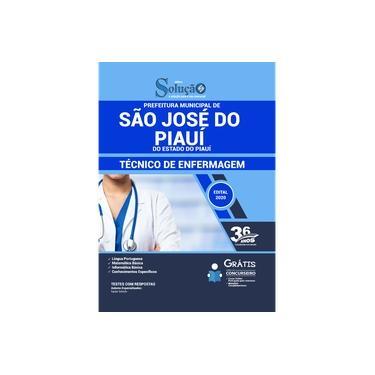 Imagem de Apostila São José do Piauí - PI 2020 - Técnico de Enfermagem