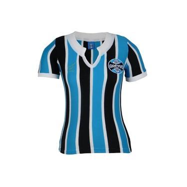 Camisa Grêmio Retrô 1977 Nº 9 Feminina