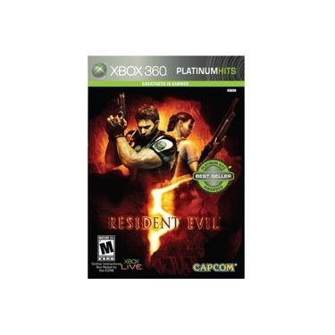 Resident Evil 5 Jogo Xbox 360 Platinum Hits