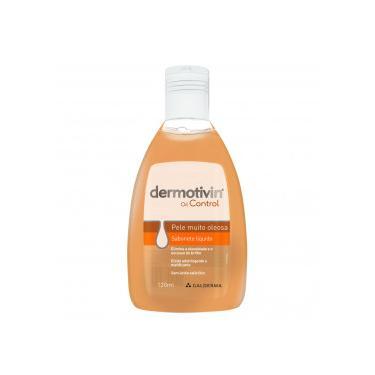 Dermotivin Control Sabonete Líquido Rosto Muito Oleoso 120mL