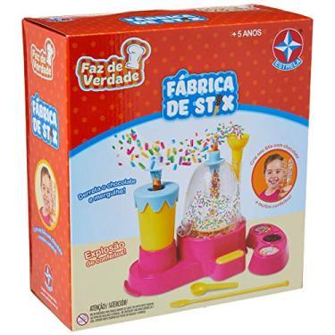Imagem de Fábrica De Stix Faz De Verdade Brinquedos Estrela Multicores