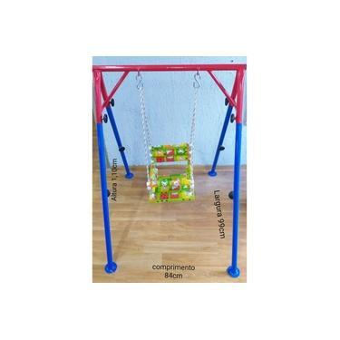Imagem de Balanço Infantil Individual Com Estrutura De Ferro-KIDS