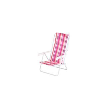 Cadeira de Praia Aço 8 Posições - Estampas Variadas - Mor