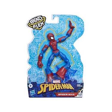 Boneco Marvel Homem Aranha Bend and Flex Spider Man E7335