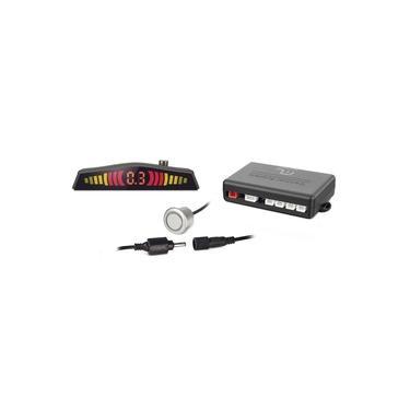 Sensor de Estacionamento Multilaser 18,5MM 4 Pontos Cinza AU016