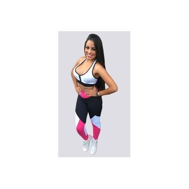 Calça Legging Essential Fitness - Rosa