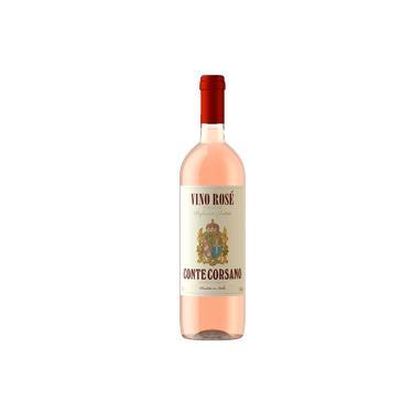 Vinho Italiano Rosé Conte Corsano Rosato 750ml - Mega Oferta