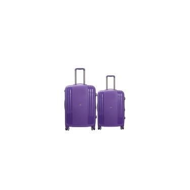 Imagem de Conjunto 2 Peças Mala Viagem P 10kg + M 23Kg California TSA 360 Graus Polipropileno MD9098