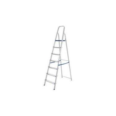 Imagem de Escada Alumínio Mor 7 Degraus - 5105