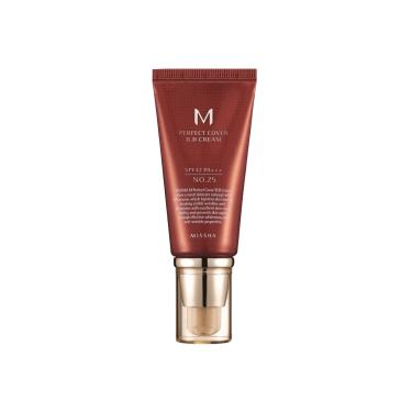 Missha M Perfect Cover Número 25 Warm Beige - BB Cream 50ml