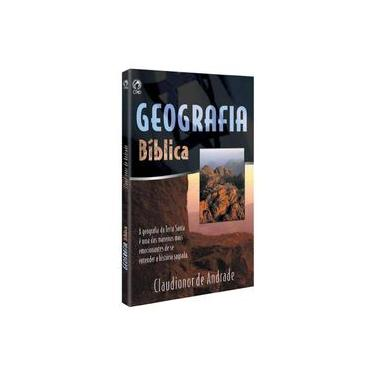 Geografia Biblica - Capa Comum - 9788526303706