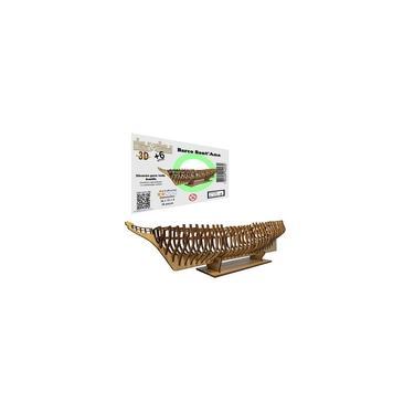 Imagem de Brinquedo Quebra Cabeça 3D Barco Navio Mdf