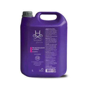 Shampoo Pet Society Hydra Groomers PRO Neutralizador de Odores para Cães e Gatos - 5 Litros