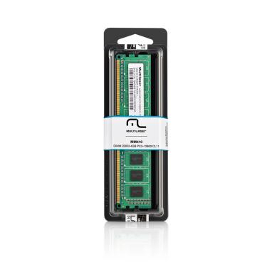 Memória Multilaser Ddr3 Udimm 4Gb 1600 Mhz - MM410 MM410