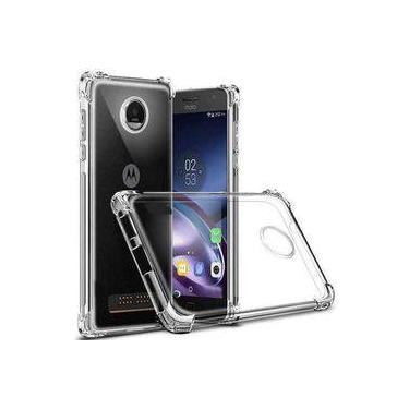 Capa Anti Shock + Pelicula De Vidro 3d Tela Toda Motorola Moto Z3 Play - Xt1929 - Fse Acessórios