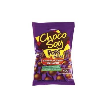 Chocolate Choco Soy Pops com Passas 40g