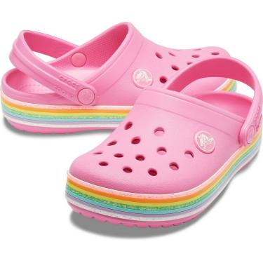 Crocs Crocband Rainbow Glitter Clg Pink - 206151-669