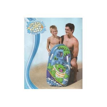 Prancha Inflável Infantil Boia Azul SAPO Bestway 99 X 51 Cm #42008