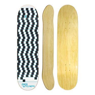 """Shape Cisco Skate Marfim Optical Blue 8.125"""""""