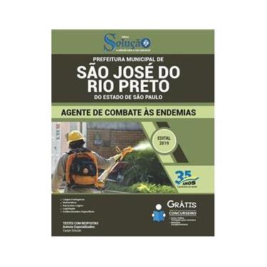 Imagem de Apostila Agente Combate Endemias São José Rio Preto
