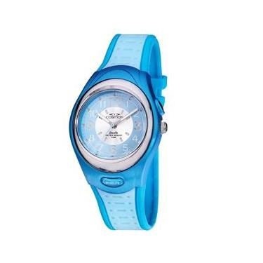 09290f6111a Relógio Feminino Analógico Cosmos OS48667A - Azul