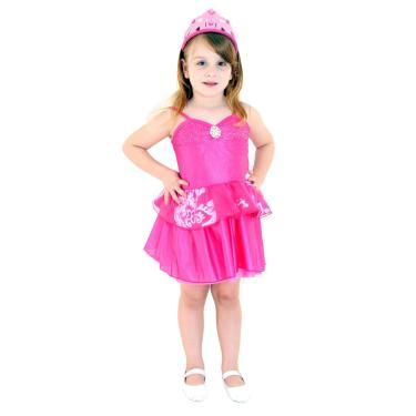 6f931122d3 Fantasia Barbie Princesa Pop Star Rosa Infantil Pop G