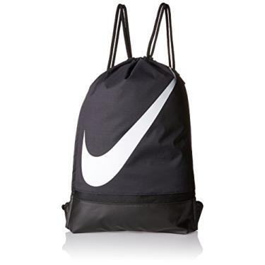 Sacola Nike Fb Gymsack Preto/preto/branco