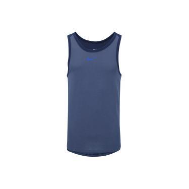 Camiseta Regata Nike Breathe Elite SL - Masculina - AZUL Nike ed6dc167eae