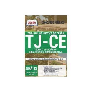 Imagem de Apostila Tj-ce - 2019 - Técnico Judiciário (administrativo)
