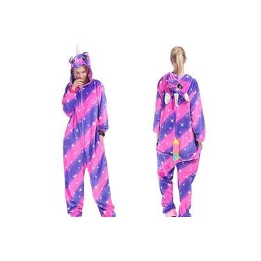 Pijama Kigurumi Unicórnio Cosplay