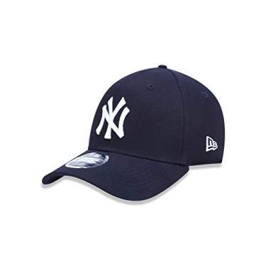 7613b786b Boné Aba Curva New York Yankees BON155 New Era - Azul Marinho