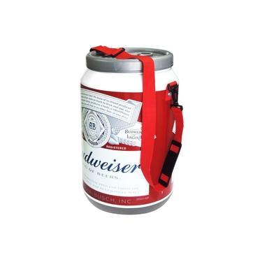 Imagem de Cooler Térmico Para Bebidas 24 Latas com Alça - Cerveja Budweiser