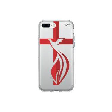 Capa Personalizada para Iphone 8 Plus - CRUZ ESPIRITO SANTO - Quark