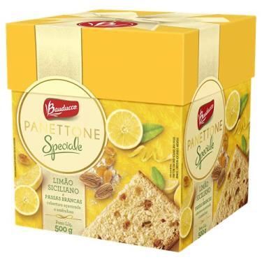 Imagem de Panettone Bauducco Speciale Uvas Brancas e Limão Siciliano 500g