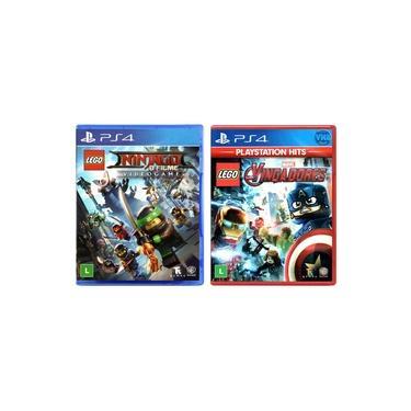 LEGO Ninjago - O Filme: Video Game + LEGO Marvel Vingadores - PS4