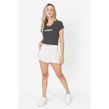 Short Sarja Feminino Off White Hot Pants Avenida