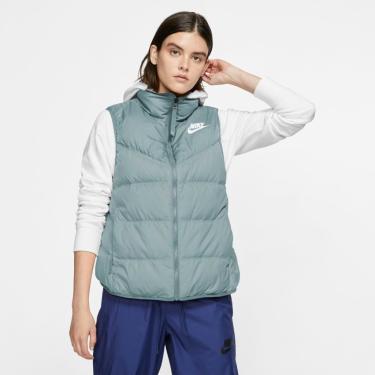 Colete Nike Sportswear Windrunner Down-Fill Feminino (Dupla Face)