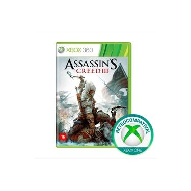 Assassin's Creed III 3 -  Xbox 360 / Xbox One
