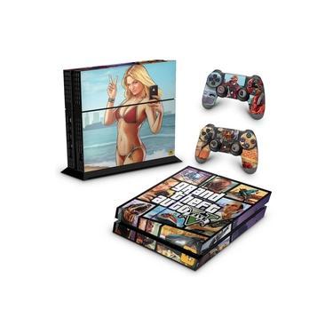 Skin Adesivo para PS4 Fat - Gta V