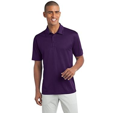 Camisa polo Port Authority Silk Touch Performance, Bright Purple, 4XL