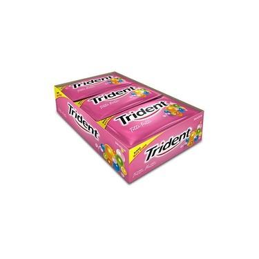Chiclete Trident Tutti-frutti Caixa C/ 21 Unidades - Adams