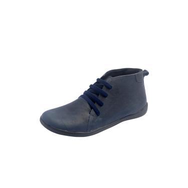 Botinha S2 Shoes Milene Couro Marinho  feminino