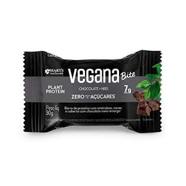 Barra Protein Bit Nibs Vegana Hart's Natural 30g