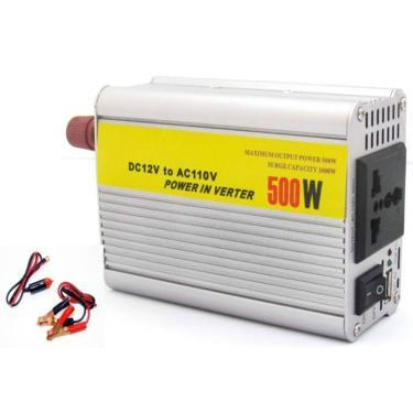 Transformador Inversor Conversor 500W De Potência 12V -110V